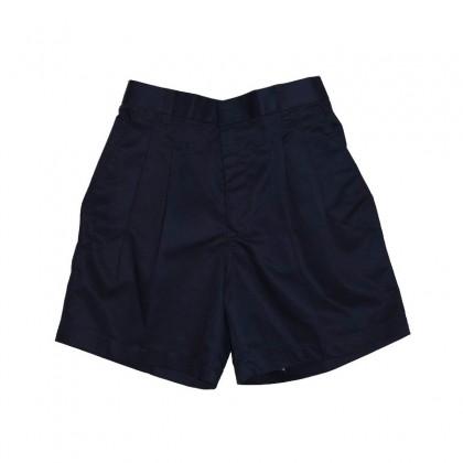 Cute Maree Academy Primary School Uniform Cotton Short Pants - Dark Blue
