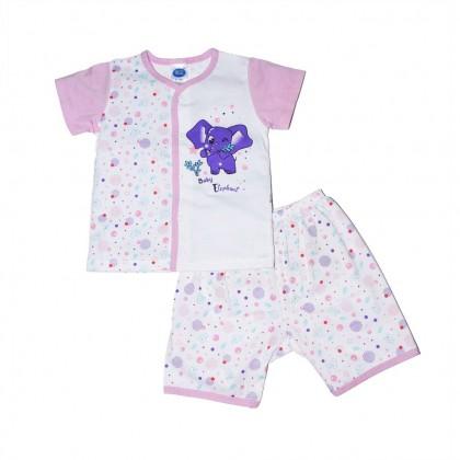 Cute Maree Little Elephant Short Pant Cotton Baby Suit