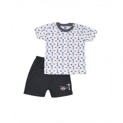 Cute Maree Junior Full Print Shorts Baby Suit