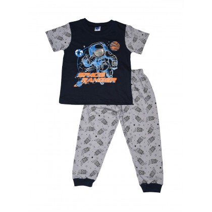 Cute Maree Space Range Kids Pyjamas Suit