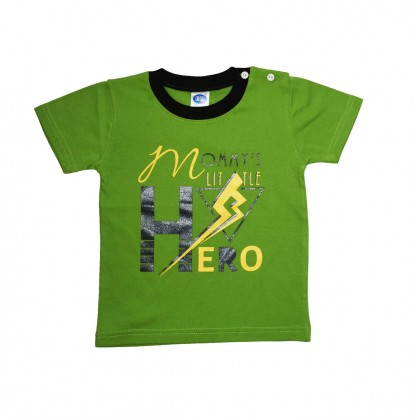 Cute Maree Mommy's Hero Cotton T Shirt Top